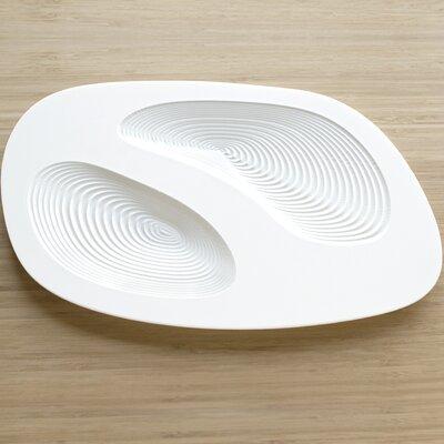 DESU Design Surface Lithos Divided Serving Dish