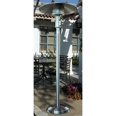 sunglo portable natural gas patio heater reviews wayfair