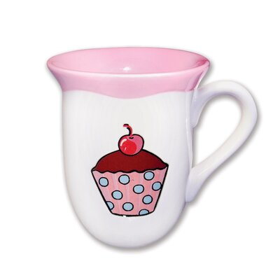 Omniware Everyday Cupcake Polka Dots Mug