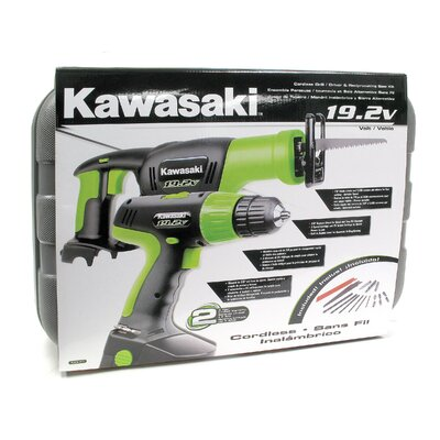 Kawasaki 19.2 V Drill / Reciprocating Saw