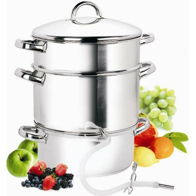 Cook N Home Cook N Home Stainless Steel Juicer Steamer