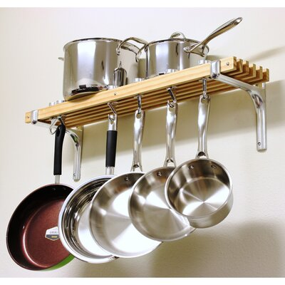<strong>Cooks Standard</strong> Wall Mount Pot Rack Set
