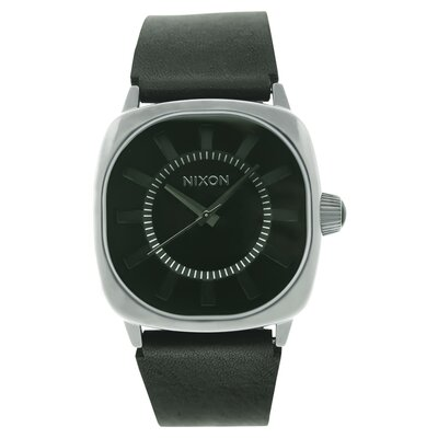 Nixon Men's Revolver Watch with Black Dial