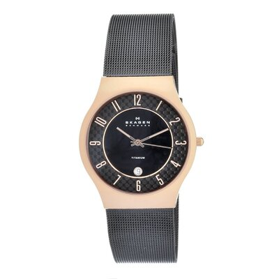 Titanium Women's Crystal Watch