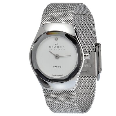 Steel Women's Crystal Watch