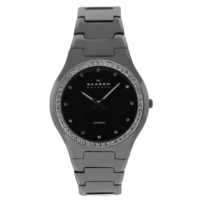 Ceramic Women's Crystal Watch