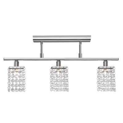 Pyton 3 Light Semi Flush Ceiling Light