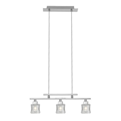 Tanga 1 3-Light Kitchen Island Pendant