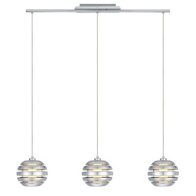 Mercur 3 Light Kitchen Island Pendant