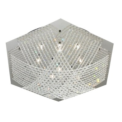 EGLO Lerida 16 Light Flush Mount