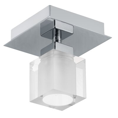 EGLO Bantry 1 Light Semi Flush Ceiling Light