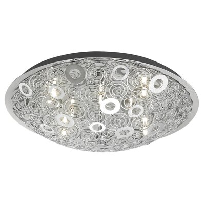 EGLO Cromer 12 Light Flush Mount