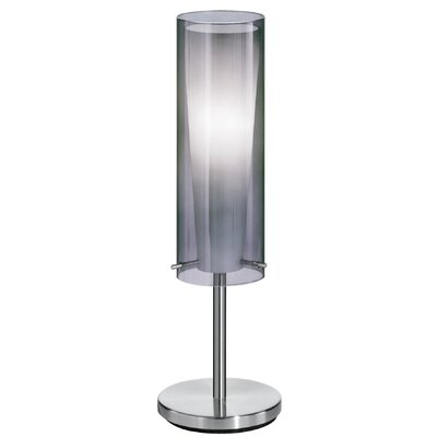 """EGLO Pinto Nero 19.75"""" H Table Lamp with Drum Shade"""