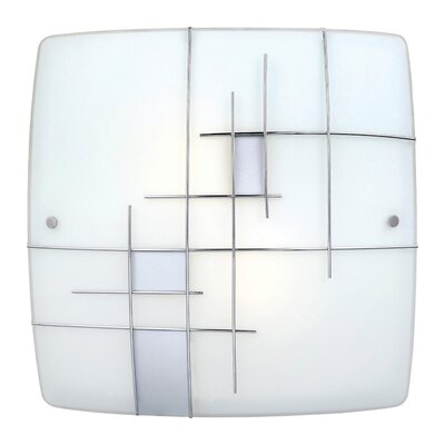 EGLO Raya 1 2-Light Flush Mount