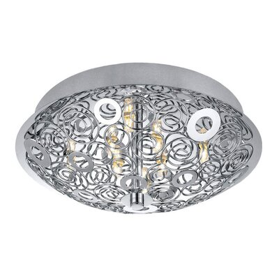 EGLO Cromer 8 Light Flush Mount