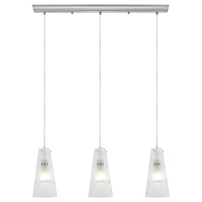 Noria 3 Light Kitchen Island Pendant