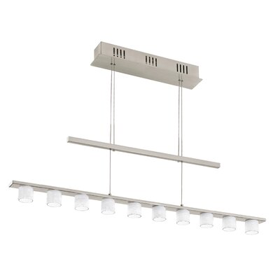 EGLO Pulsano 10 Light Linear Pendant