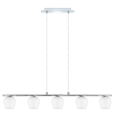 EGLO Carda 5 Light Kitchen Island Pendant