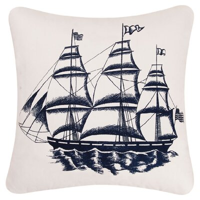 Ship Cotton Accent Pillow