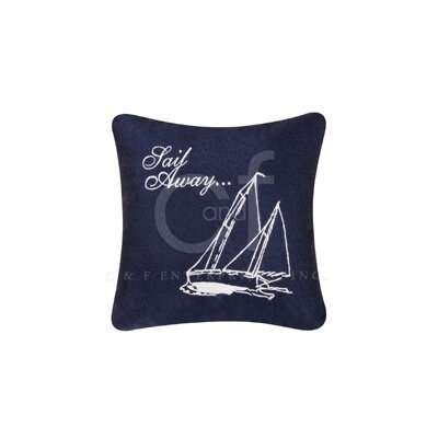 Sail Away Linen Accent Pillow