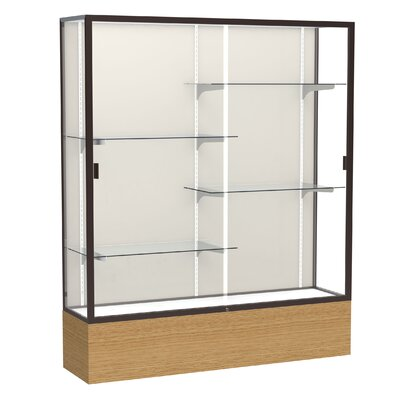 Waddell Reliant 2075 Series Case with Oak Base