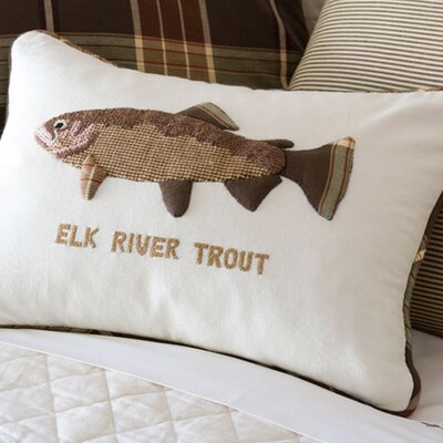 <strong>Taylor Linens</strong> Elk River Trout Pillow