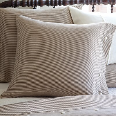 Taylor Linens Farmhouse Stripe Euro Pillowcase