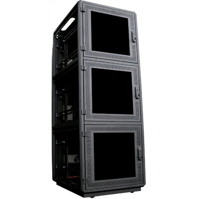 "Quest Manufacturing 500 Series 36""D Co-Location Server Rack - 45 RU"