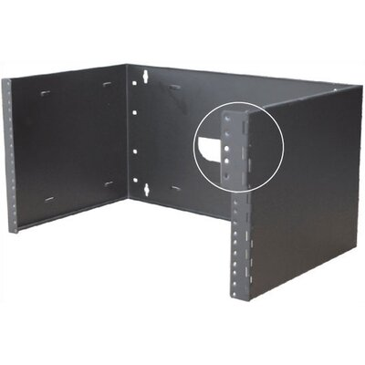 "Quest Manufacturing Hinged Wall Mount Bracket with 12"" Depth"