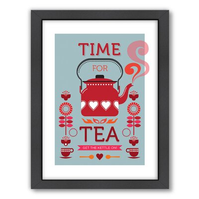 Americanflat Time for Tea Wall Art