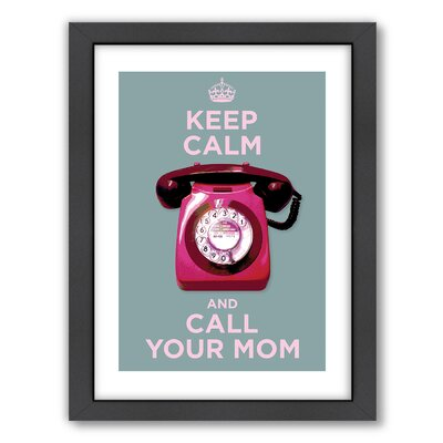 Americanflat Call Your Mom Wall Art