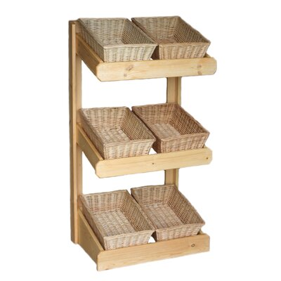 Wicker Valley Large Farm Shop Display Unit