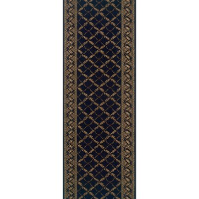 Rivington Rug Majestic Argyle Midnight Rug