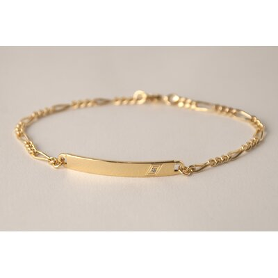 Speidel Ident Ladies Dia Bracelet in Yellow
