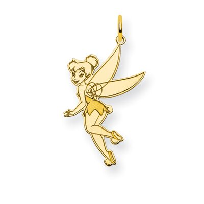 Gold-plated Sterling Silver Disney Tinker Bell Charm