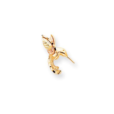 10k Black Hills Gold Hummingbird Pendant
