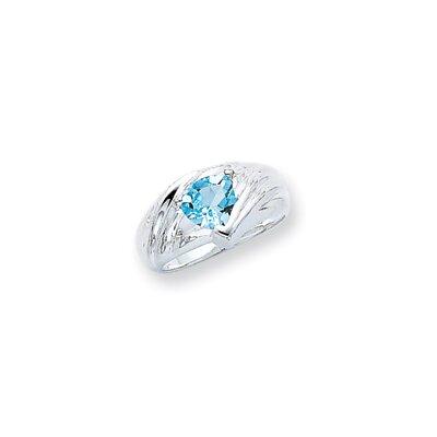 Sterling Silver Princess Cut Halo Ring