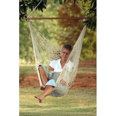Castaway Hammocks Single Cotton Rope Swing