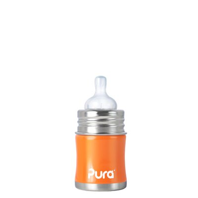 Pura Kiki Infant Bottle with Silicone Slow-flow Nipple