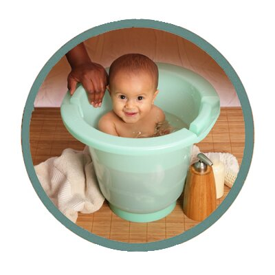 Spa Baby European Upright Baby Eco Bath Tub