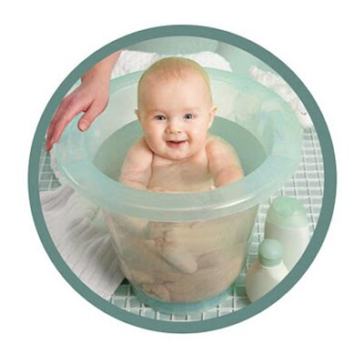 Spa Baby European Upright Baby Bath Tub