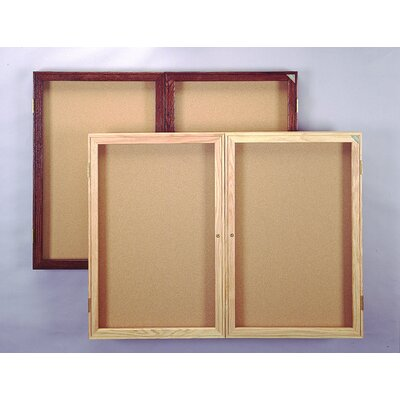 Ghent Enclosed Tackable Fabric Board (3 door)