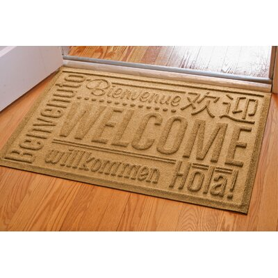 Aqua Shield World Wide Welcome Mat