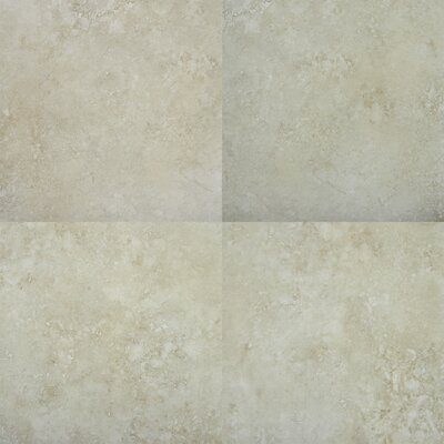 "MS International Venice 20"" x 20"" Glazed Porcelain Tile in Cappuccino"