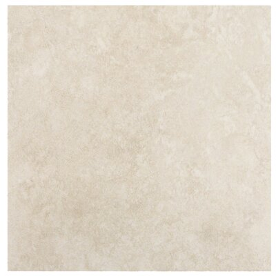 "MS International Travertino 12"" x 12"" Porcelain Tile in Beige"