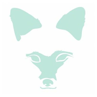 Avalisa Animal Face - Fox Stretched Wall Art