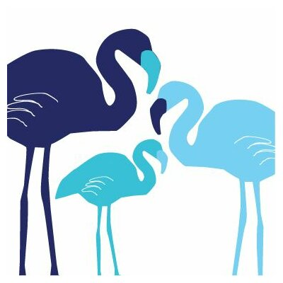 Avalisa Animal - Flamingo Stretched Wall Art