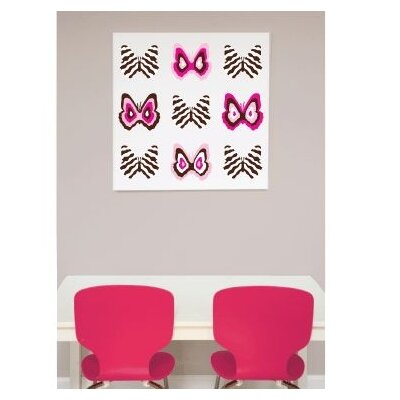 Avalisa Imaginations Butterfly Group 1 Stretched Canvas Art