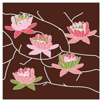 Avalisa Imaginations Flowering Tree Stretched Canvas Art