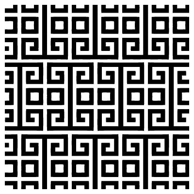 Avalisa Pattern - Squares Stretched Wall Art